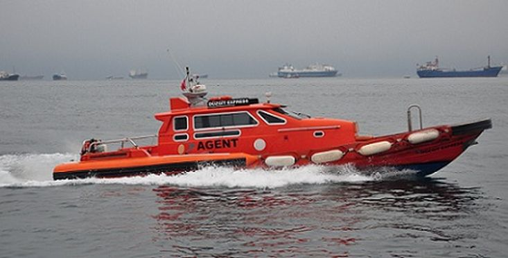 USED 14 METER GRP FAST AGENT BOAT 12 PAX