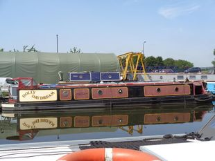 57ft Trad stern Narrowboat built 2011 by KCB Marine & fit out by Rob S