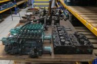 Doosan L086 TIL Marine Diesel Engine Breaking For Spares