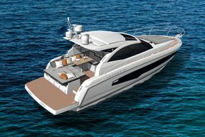 Jeanneau Leader 36 diesel sports cruiser - on the water