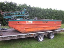 Conver c-480H weed cutting boat