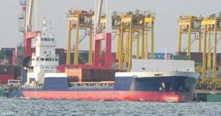 Container Barge / Pusher Tug Combo