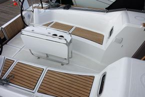 Cockpit (similar boat)
