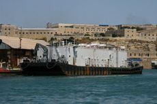 Desalination - Reverse Osmosis - Fresh Water - Barge ex-US Navy