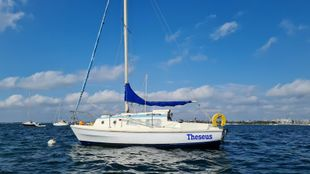 Westerly Pageant 23 ft sailing boat