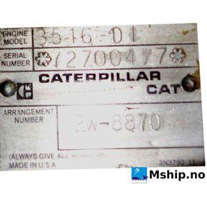 Caterpillar 3516 DI    mship.no