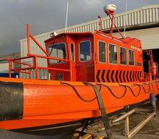 Survey, dive, rescue vessel