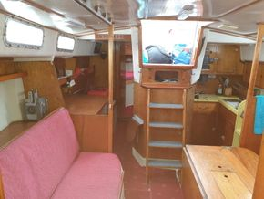 Saloon and Nav table