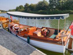 Stunning Replica Edwardian River Launch