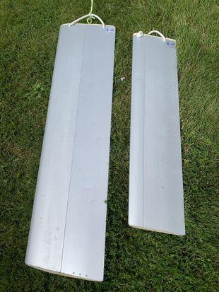 Set of aluminium foils