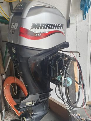Mariner 60hp fourstroke outboard