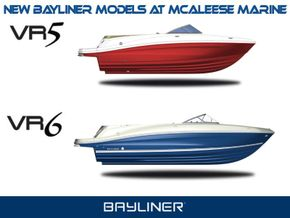 Bayliner VR5 & VR6 2016 Models