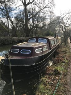 72ft Boat & Residential Mooring, Oxford