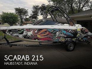 2014 Scarab 215 HO Impulse