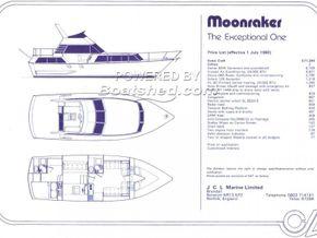 Moonraker 36 Complete Mould Tools - Bow