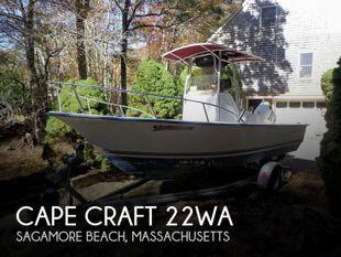 2005 Cape Craft 22WA