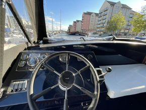 Hydraulic wheel steering