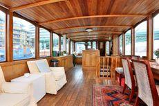Beautiful Belgian luxe motor barge, SW11