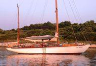 49ft CLASSIC 1950s SANGERMANI YAWL