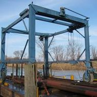 15 Ton Marine Travel Lift