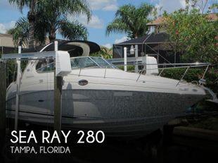 2007 Sea Ray 280 Sundancer
