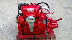 Bukh DV24 24hp Marine Diesel Engine Package Under 250Hrs From New!!!!!