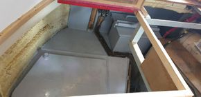 Storage under Engine Room floor