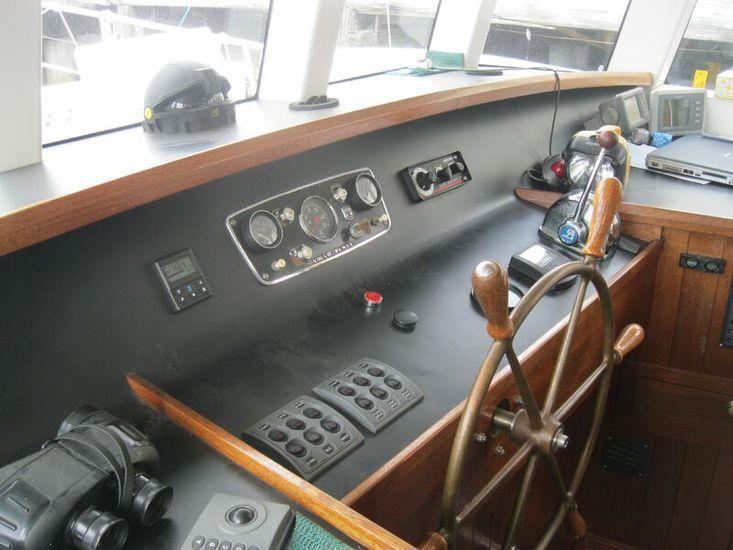 18m Pilothouse Motor Sailor