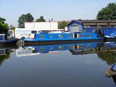 55ft Cruiser stern Narrowboat built 2005 by Glenside boat builders WIT