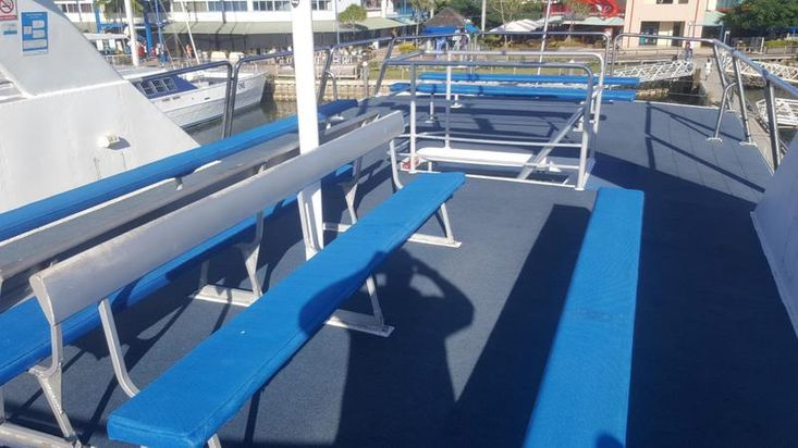Alloy High Speed Passenger Cat Seating for 300 PAX