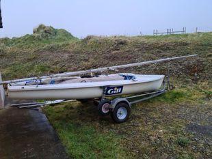 470 Sailing Dingy