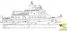 36m Crew Transfer Vessel for Sale / #405F