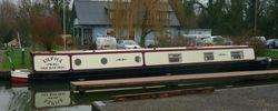 Ulpha 60' Rudyard Semi- Trad, Shire 2001 engine, repainted 2020