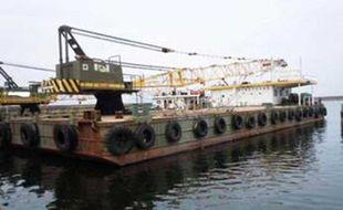 35t Floating Crane
