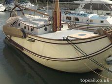 1990 Dutch Gipon Workumer Bol Gaff Sailing Barge - topsail.co.uk