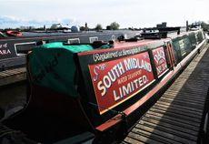 72' Mid Eng Trad with mooring option at Saul Junction Marina