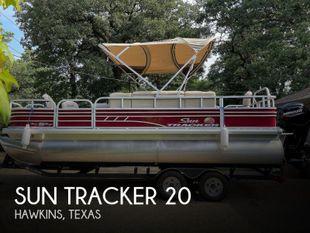 2020 Sun Tracker Fishing Barge 20DLX