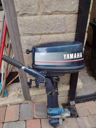 Pre owned Yamaha 5 HP.Serviced July 2021