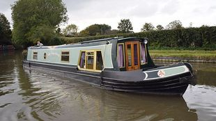 50' Cruiser stern narrowboat 1996 Colecraft