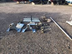 under water gear rudders, shafts, props