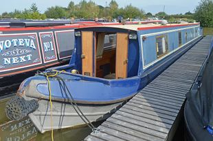 56ft Cruiser Stern Narrowboat
