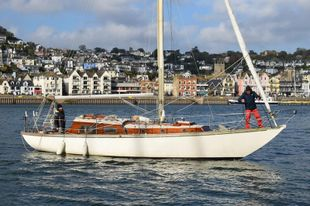 SOLD - 35ft. MORGAN GILES WEST CHANNEL CLASS SLOOP