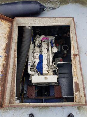 Aft Deck Engine Room Cover