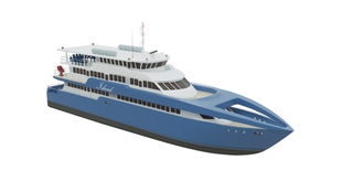 MOC Shipyards High Speed 40m 300 Passenger Ferry