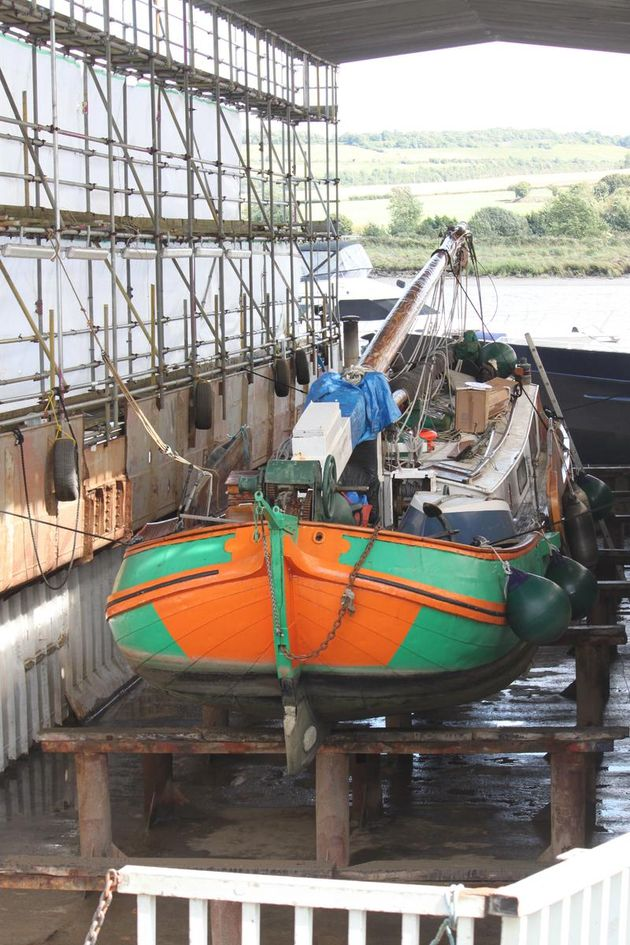 40 Metre Dry Dock Available