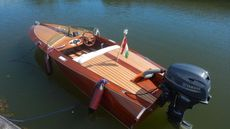 Mahogany 14 feet Classic Riverboat