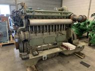 MWM TBD 601 6K 280 KW - 375 HP - 1350 RPM - SN 6010611374