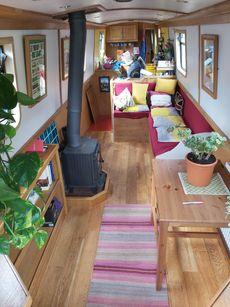62ft trad narrowboat - Cheshire
