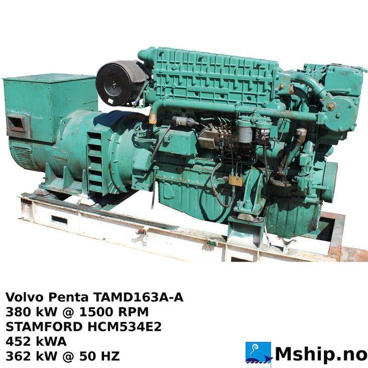 Volvo Penta TAMD163A-A generator set
