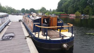 Widebeam 57ft Liverpool boats 2005 build